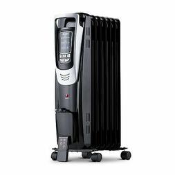 NewAir Portable Oil Filled Radiator Space Heater, 150 sq. ft