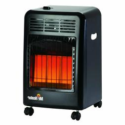 Portable Propane Space Gas Heater Rolling Home Garage 18k BT