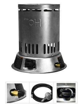 Portable Propane Space Heater 25k BTU Convection Indoor Outd