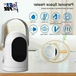 Portable Space Heater Electric Air Mini Fan For Winter Home
