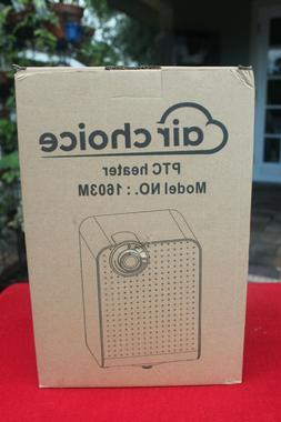 PTC Space Heat - Air Choice 1603M 1500W Portable Electric He