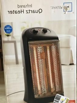 Mainstays Quartz Electric Tower Space Heater, Indoor, White,