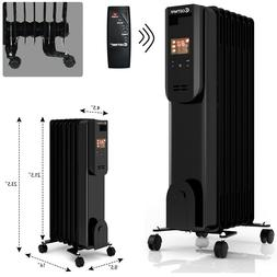 Space Heater Electric Radiator Portable Energy Efficient Hea