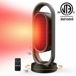 Space Heater for Home &Office - Ceramic Quiet Tower Heat