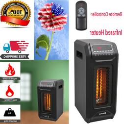 Space Heater Infrared Heaters With Thermostat And Remote Ene