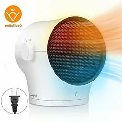 Space Heater, Personal Space Heater 1000W Electric Air Heate