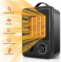 Space Heater, Portable Electric Ceramic Heaters for Office I