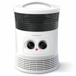 Space Heater Surround 360 Degree Fan Forced Ceramic White Ho