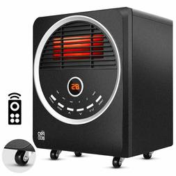 Space Heaters for Indoor use – Portable with 4 wheels, Eco