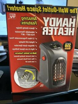 """The Wall-Outlet Space Heater/Handy Heater 350 Watts """"As Se"""