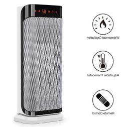 Air Choice Tower Ceramic Space Heater with Multi Modes WHITE