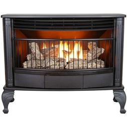 ProCom Vent Free 25K BTU Free Standing Gas Stove Fireplace -