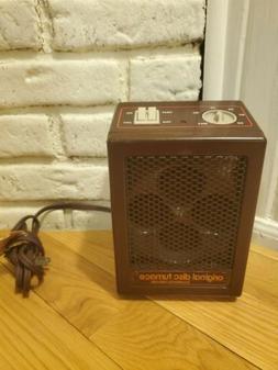 Vintage Pelonis Original Ceramic Space Heater Disc Furnace A