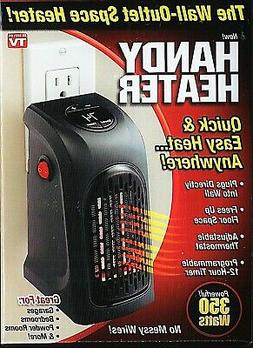HANDY HEATER Wall Outlet Space Heater / 350 Watts