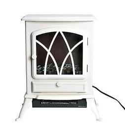 White Electric Fireplace Room Space Heater Voltage -120v 750
