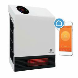 Heat Storm WiFi Infrared Space Heater Wall Mounted Room Warm