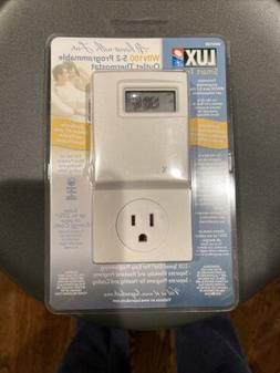 Lux WIN100 Heating Cooling Programmable 15a 120v Outlet Ener