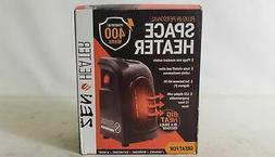 Zen Heater Plug In Personal Space Heater 400 Watts, LED DISP